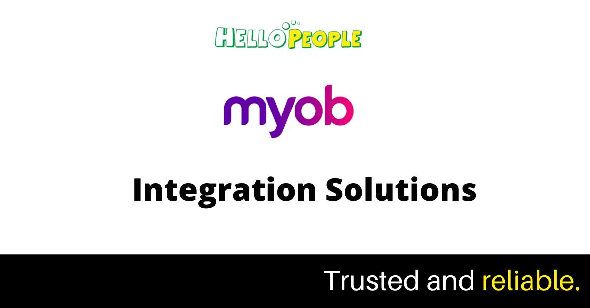 myob api integration and development